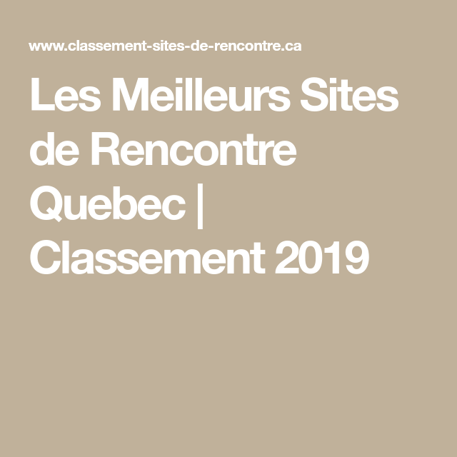 tarifs sites de rencontre 2019