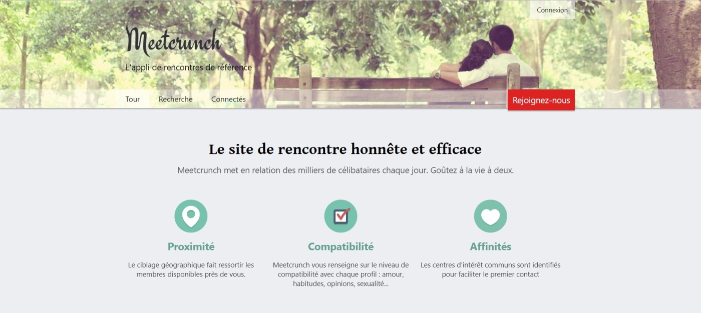 avis site rencontre meetcrunch