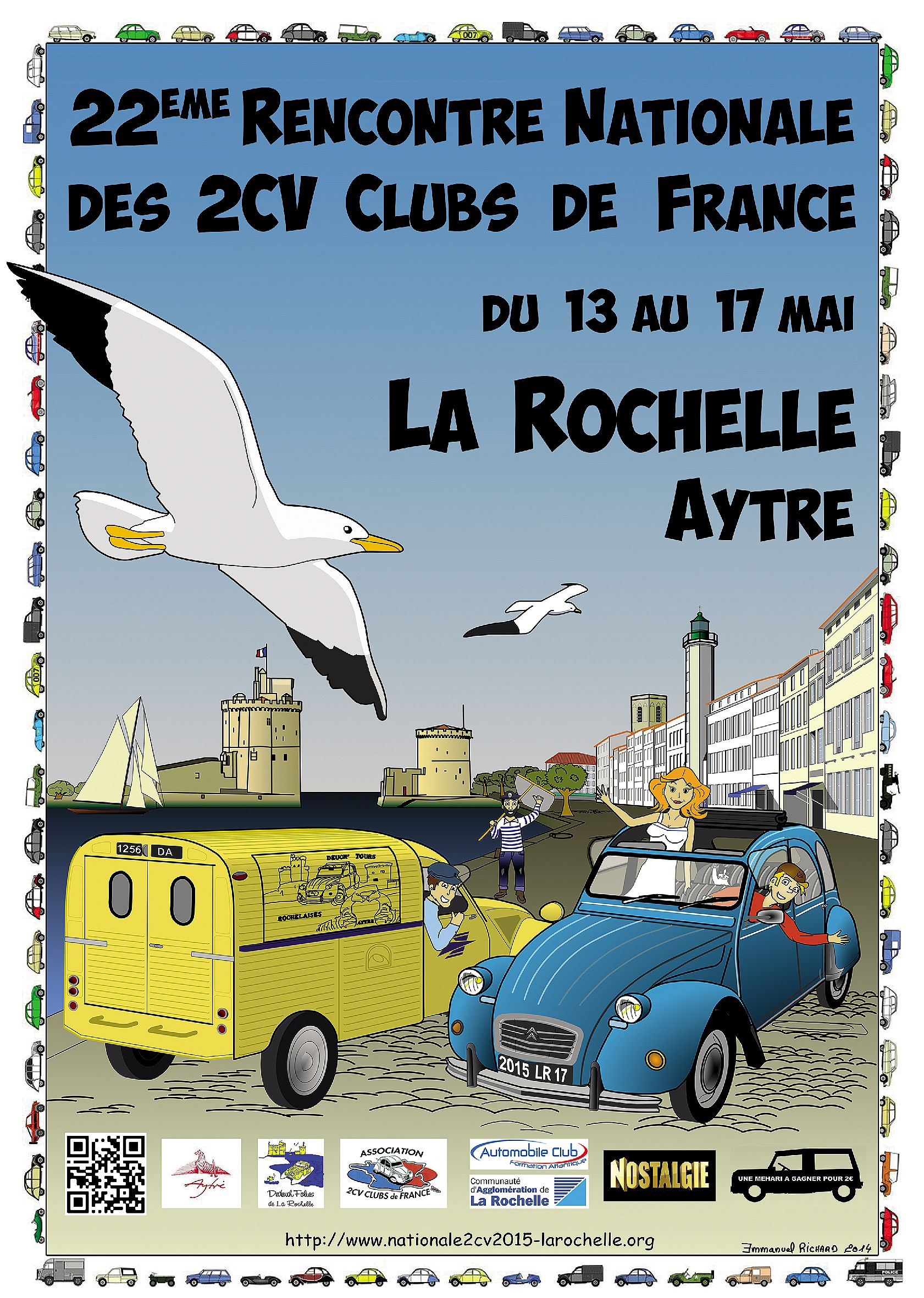 rencontre nationale des 2cv clubs de france 13 mai)