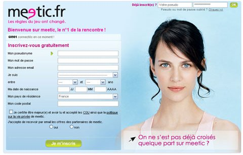rencontre homme meetic