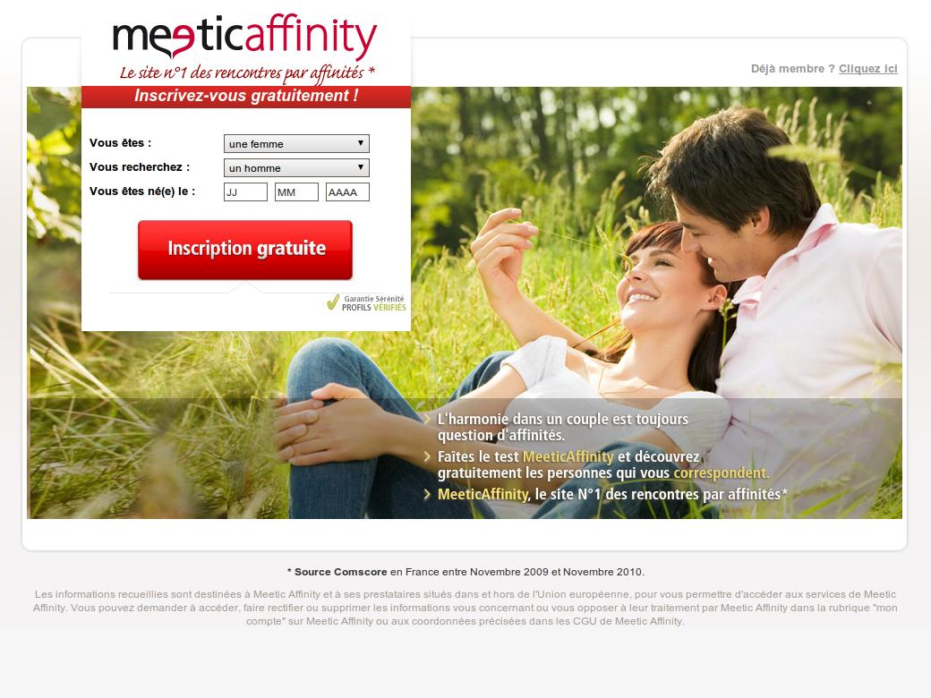 Rencontre en France - Meetic France