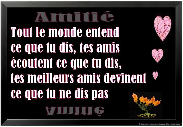 citations rencontres amicales)
