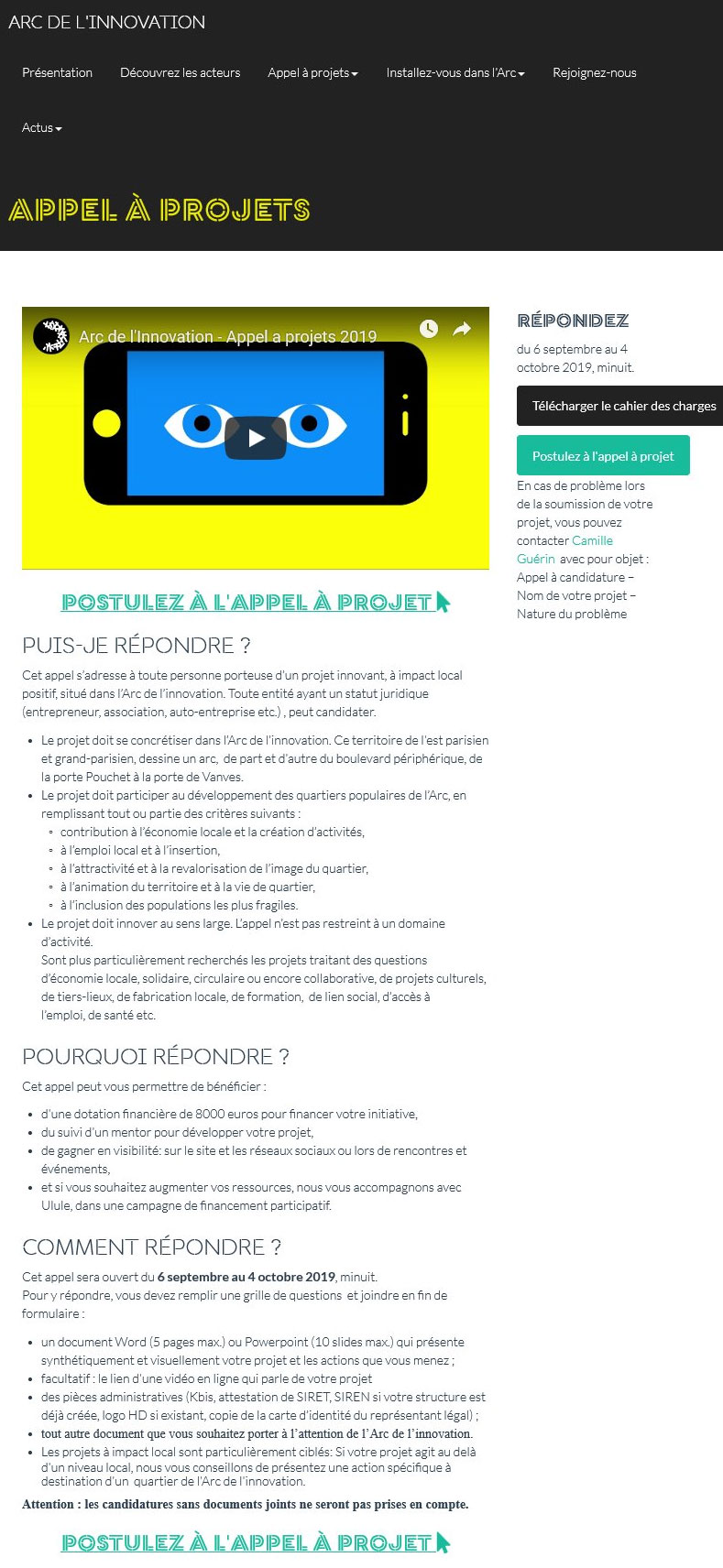 site de rencontre appel