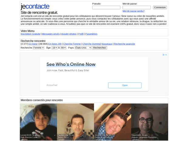 jecontacte site rencontre)