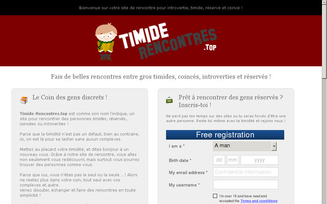 Rencontres : que faire quand on est timide ? - Meetic France