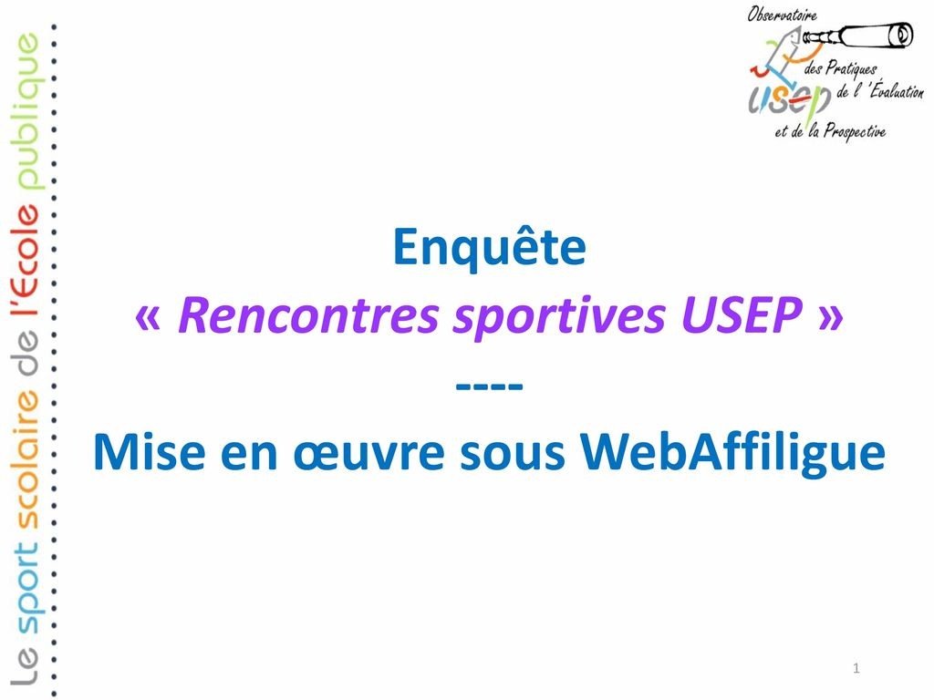 rencontres sportives usep)