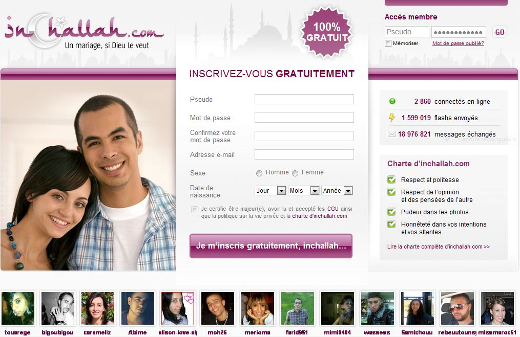 rencontre pour mariage islam)