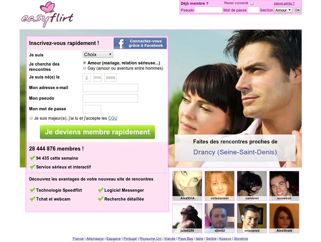 Liste de sites de rencontres en ligne (France) | Tableaux comparatifs - SocialCompare