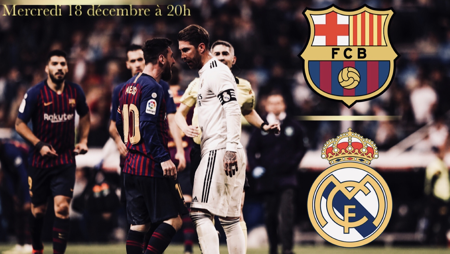 rencontre barcelone real madrid