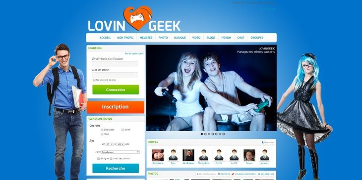 Call of Geek, le site de rencontre geek gratuit !