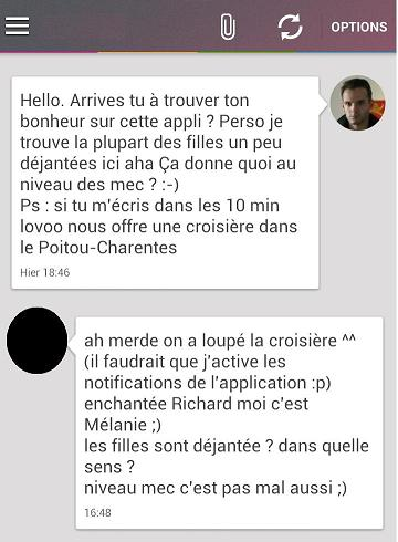exemple conversation site rencontre