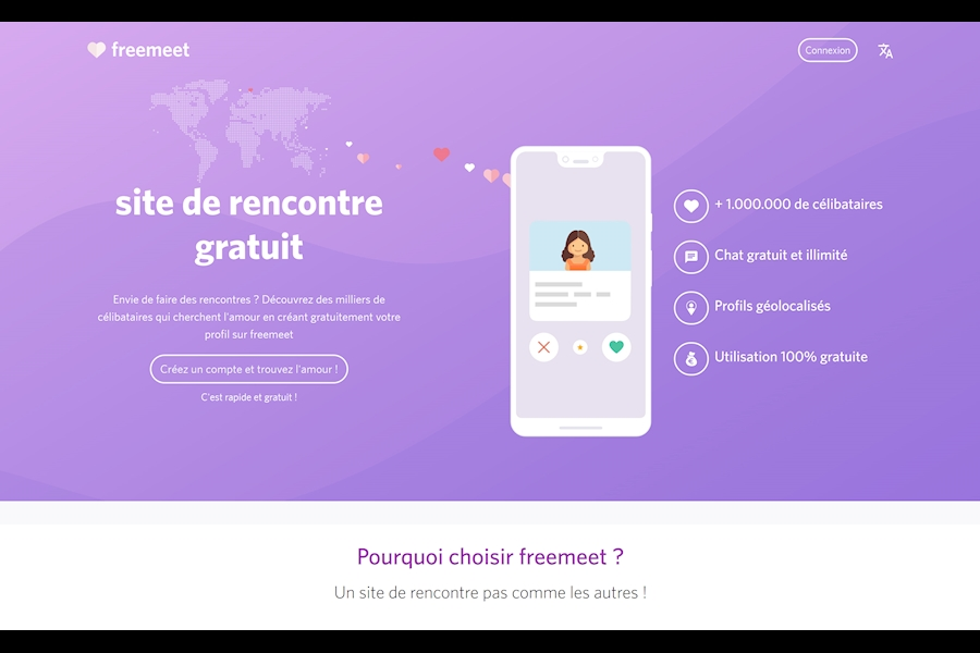 site rencontre freemeet