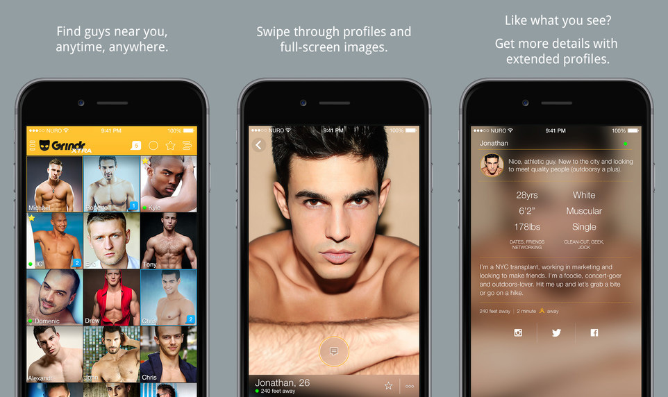 application rencontre gay smartphone)