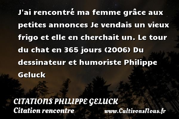 citation on rencontre des milliers de gens)