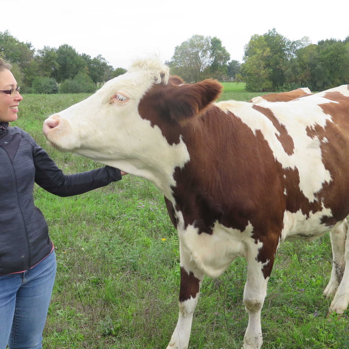 rencontre avec agricultrice)
