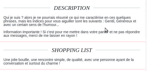 exemple description homme site de rencontre)