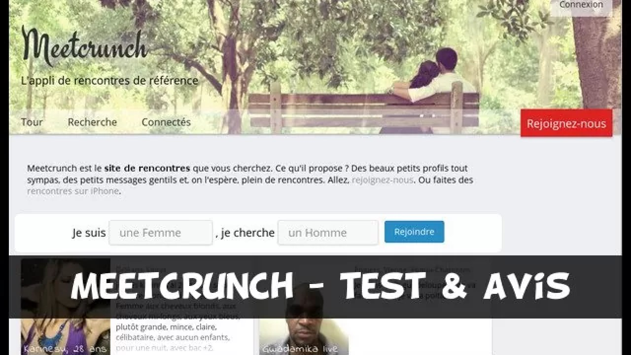 avis site de rencontre meetcrunch rencontre en ligne streaming