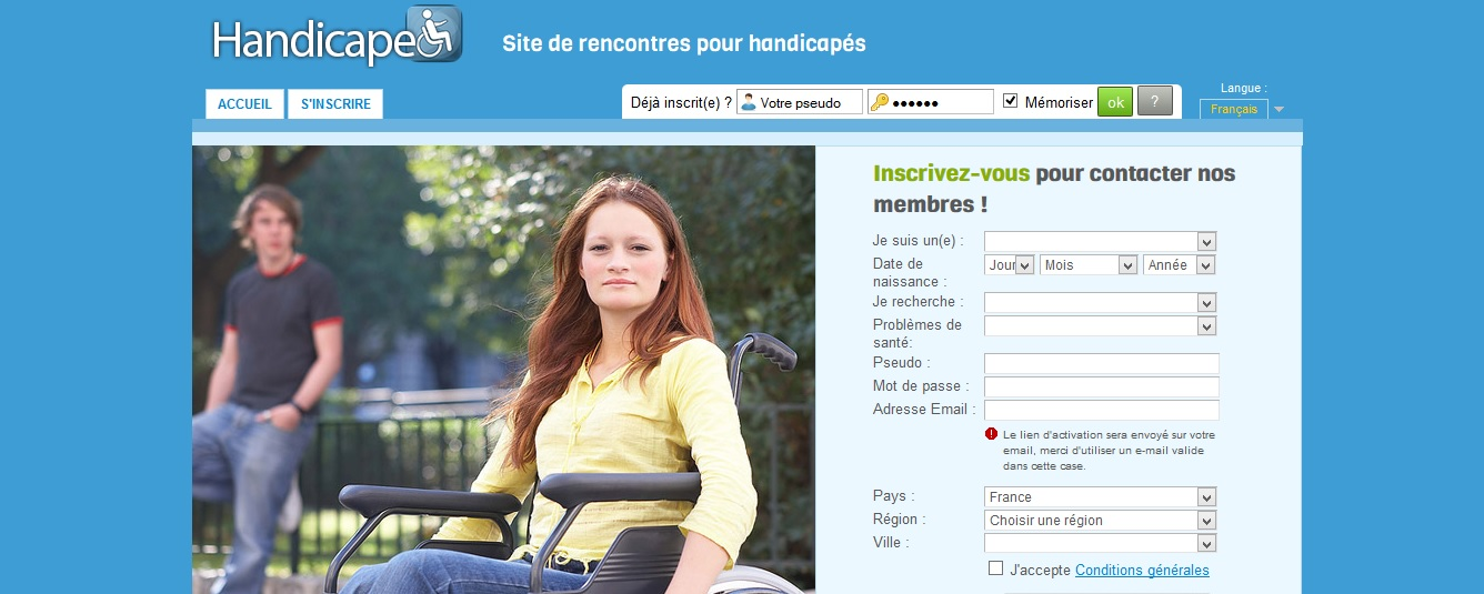 site rencontre handicap