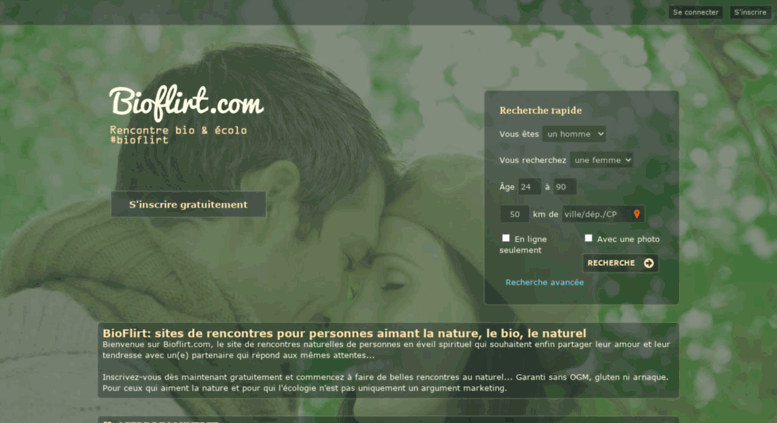 site de rencontre bio nature)