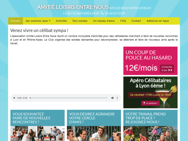 sites rencontres amitié