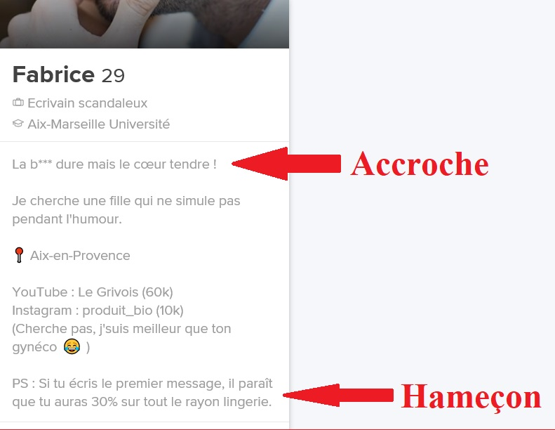exemple presentation site de rencontre