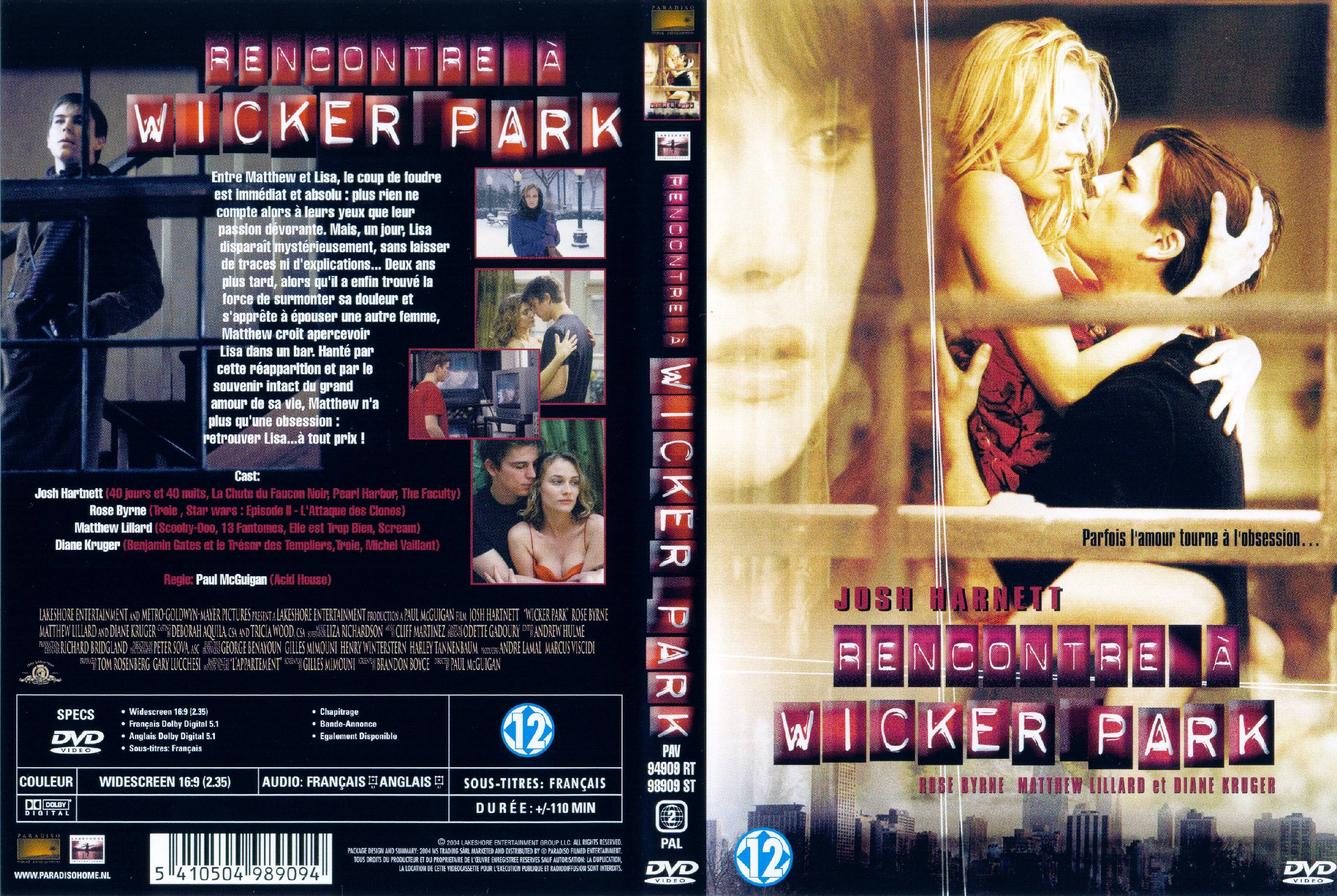 jaquette dvd rencontre a wicker park)