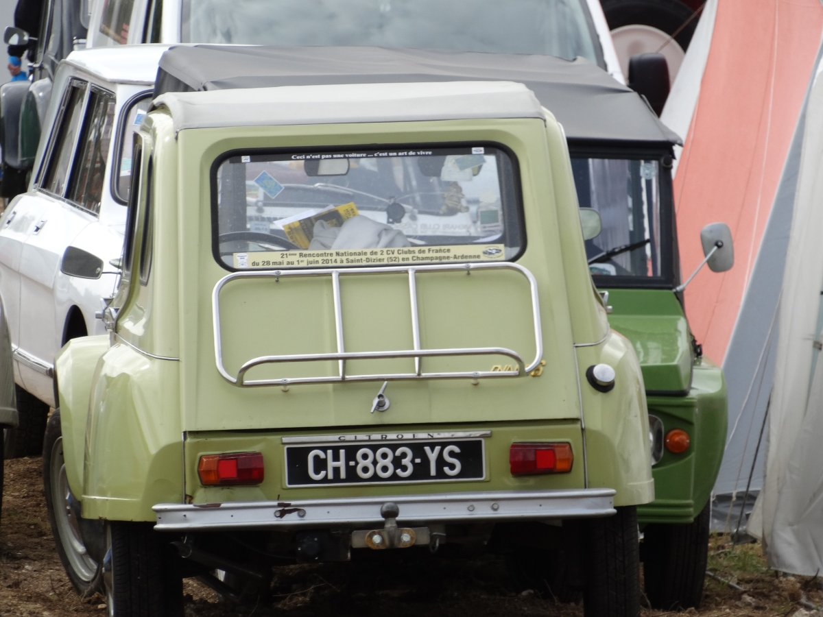 Rencontre nationale des 2cv clubs, Saint-Dizier 2014