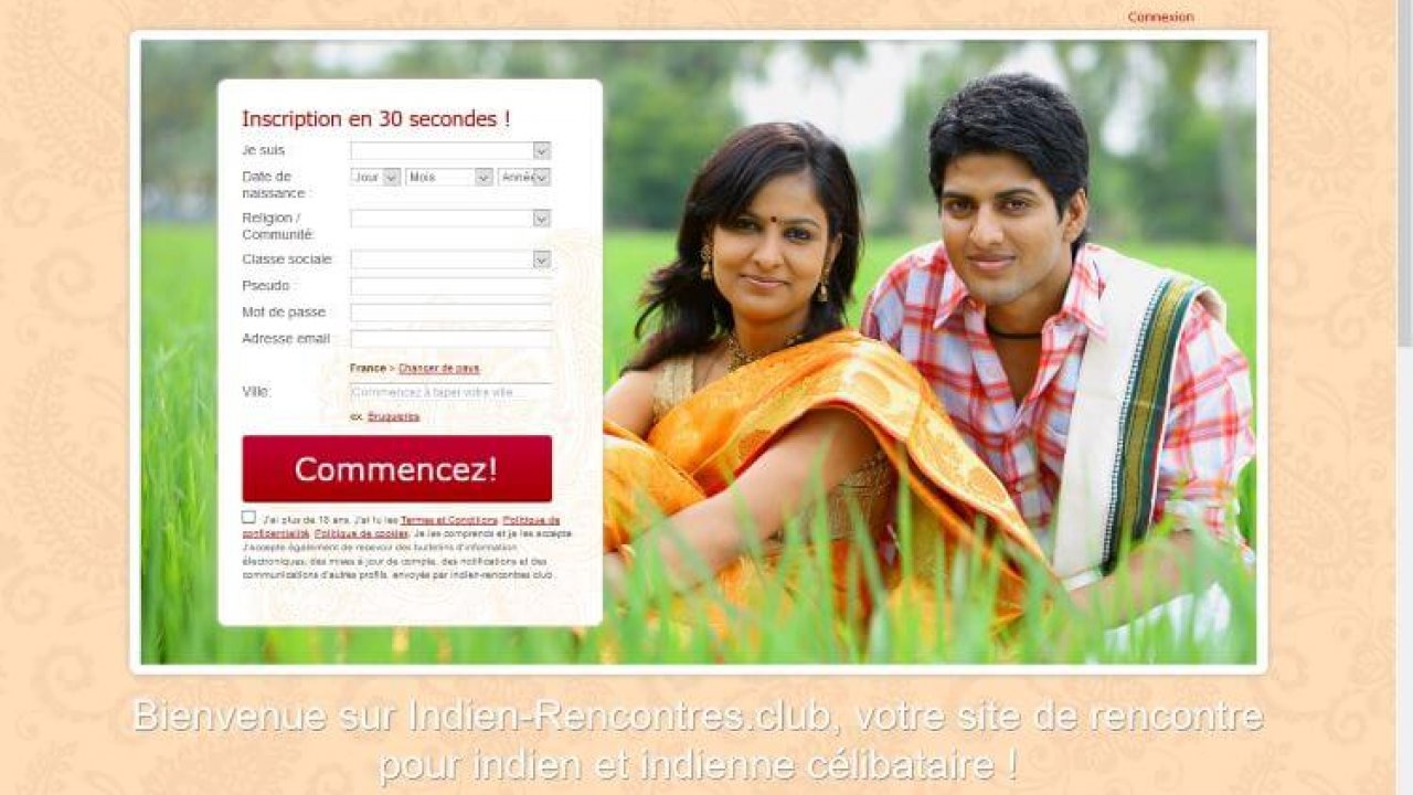 site de rencontre indien france
