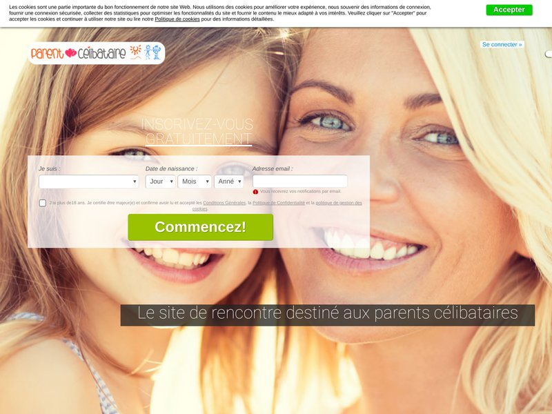 site de rencontre pour parents celib