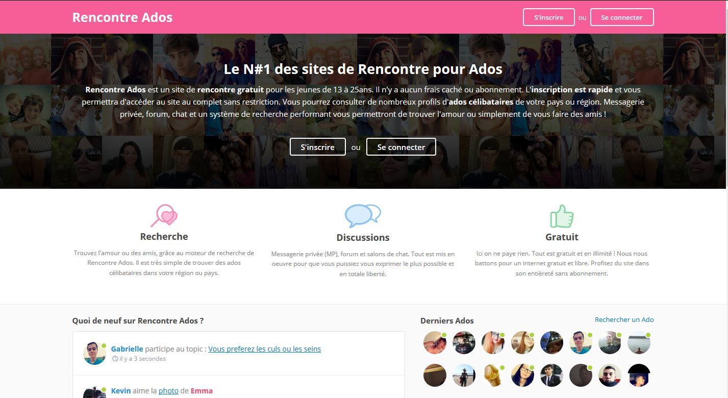 site rencontre gratuite forum