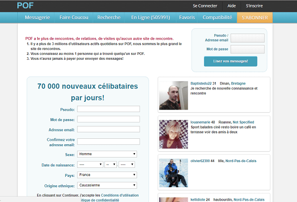 télécharger pof free online dating gratuit (android)