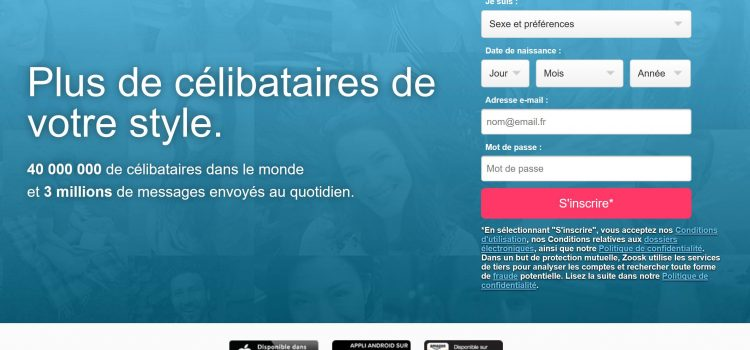 Avis Zoosk : un site de rencontre intrusif - European Heritage