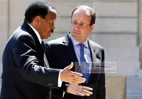rencontre paul biya hollande)