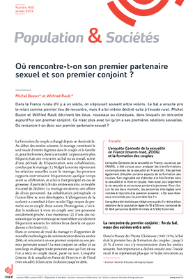 en france où rencontre t-on le plus son/sa conjoint(e)