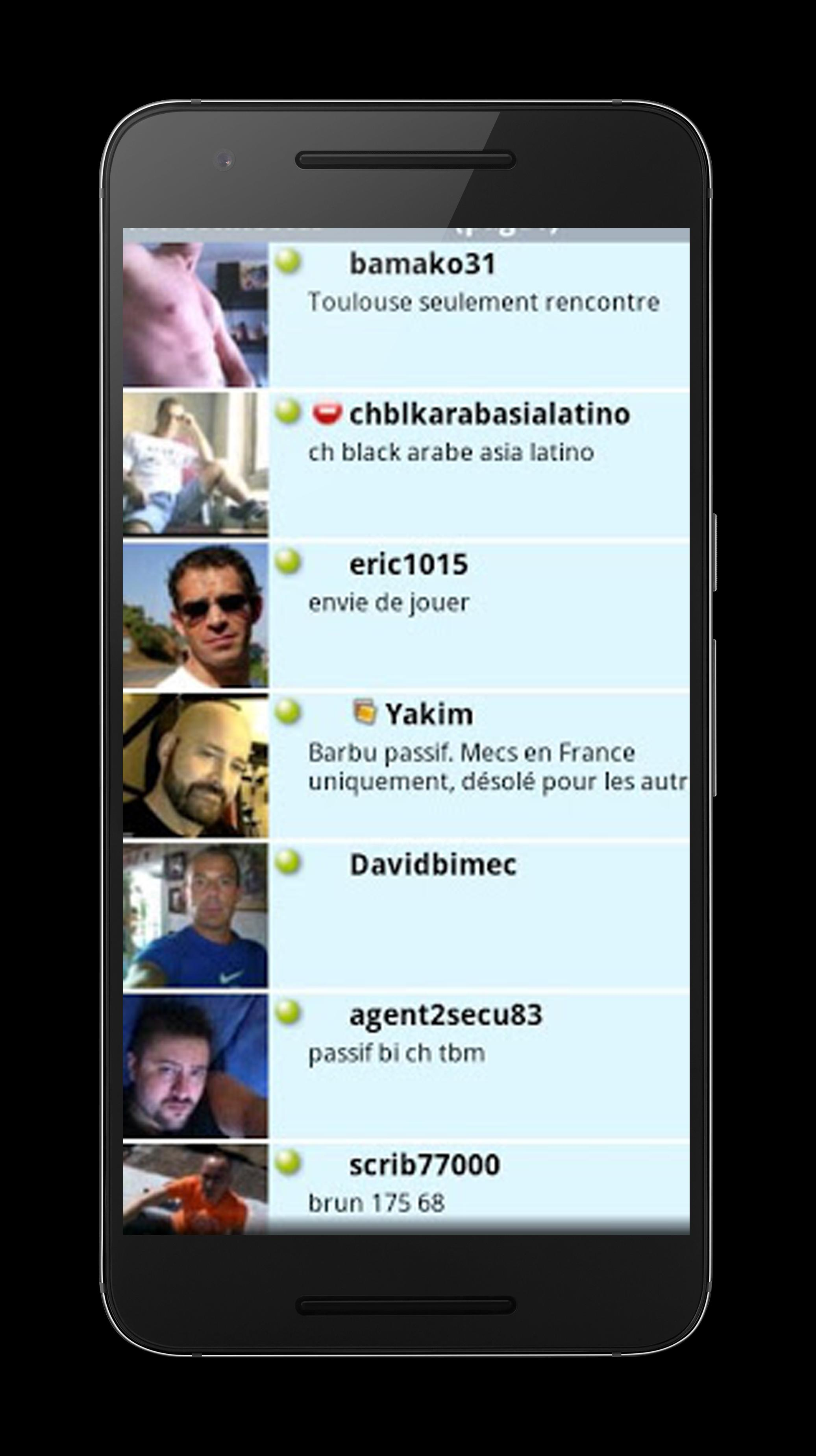 application android rencontre gay