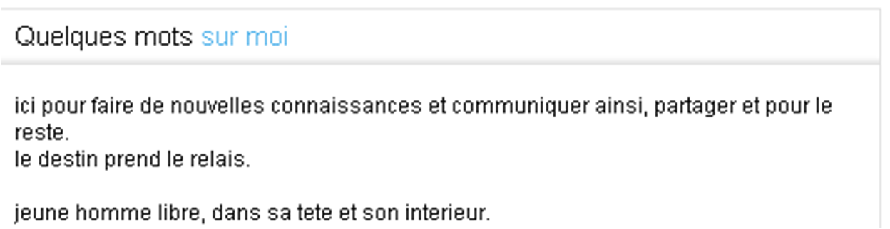 site annonce rencontres)