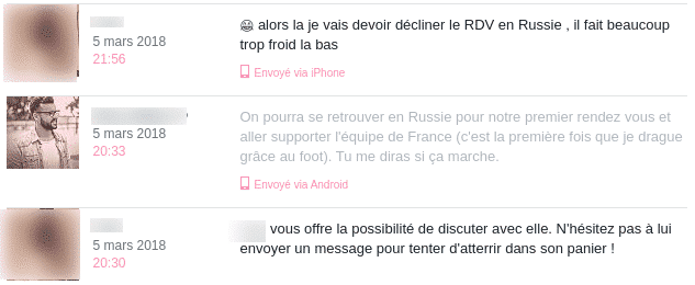 message drole site rencontre)