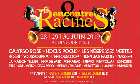 rencontre et racine 2019 photo)